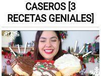 Como hacer ROLES DE CANELA caseros [3 RECETAS GENIALES]