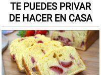 Bizcocho de fresa: La receta que no te puedes privar de hacer en casa
