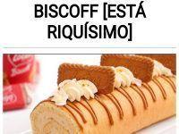 Brazo de gitano de galletas Lotus Biscoff [ESTÁ RIQUÍSIMO]