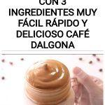 Café Espumoso con 3 Ingredientes muy Fácil Rápido y Delicioso Café Dalgona