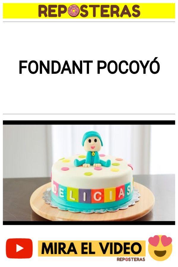 Fondant Pocoyó