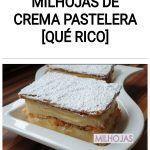 Milhojas de crema pastelera [QUÉ RICO]