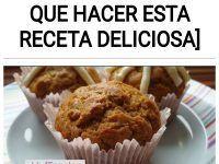 Muffins de zanahoria [Tienes que hacer esta receta deliciosa]