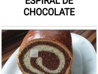 Pan de leche con espiral de chocolate