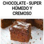 Pastel fudge de chocolate - Super húmedo y cremoso