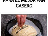 Solo 8 minutos para el mejor pan casero
