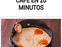Un pastel con el café en 20 minutos