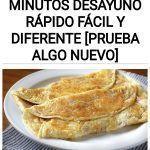 Una delicia en 5 minutos Desayuno rápido fácil y diferente [Prueba algo nuevo]