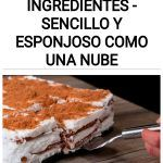 Tarta con 3 ingredientes - Sencillo y esponjoso como una nube