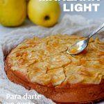 Tarta de manzana light date un gusto sin sumar tantas calorías