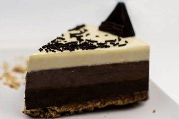 Tarta 3 chocolates