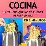 Los 14 trucos de cocina más audaces e increible ¡Mira esto!