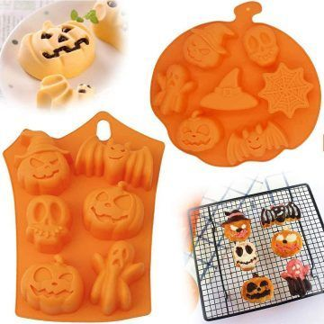 7 Moldes De Halloween que deben estar en tu cocina hoy mismo | Tus Preparaciones saldrán mejores | Ofertas que no te puedes perder