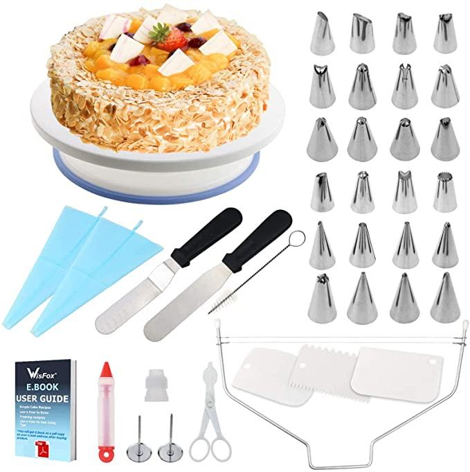 6 Utensilios para modelar pasteles que necesitas en la cocina ya mismo | Las Preparaciones saldrán más sabrosas
