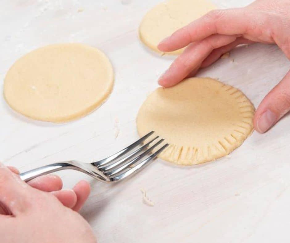 Como decorar galletas con un tenedor