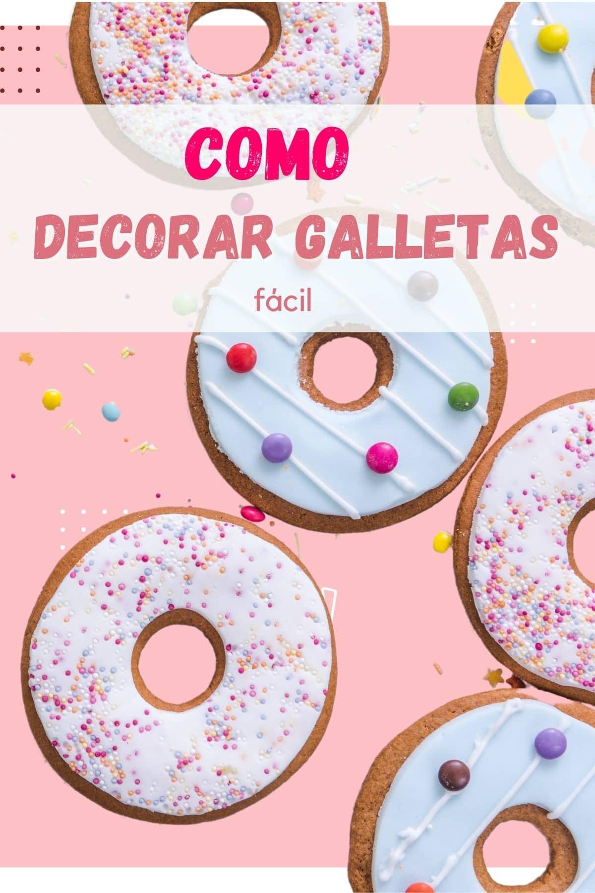 decorar galletas
