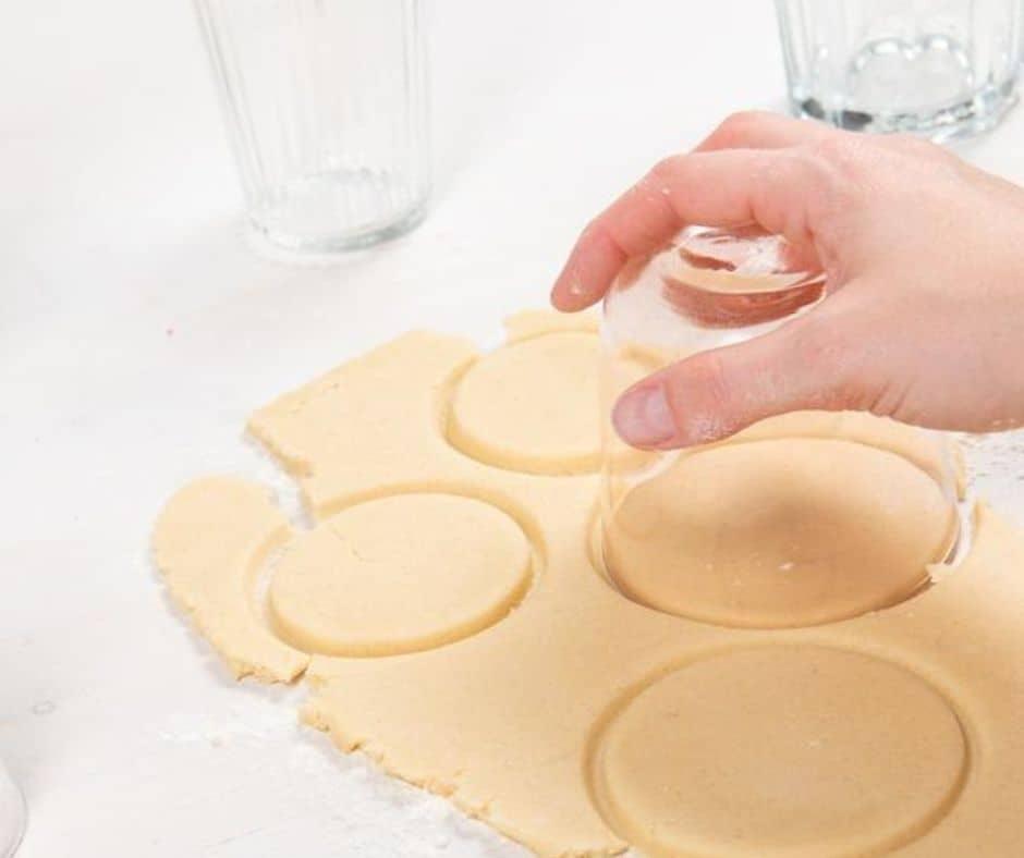 Como hacer galletas de formas redondas