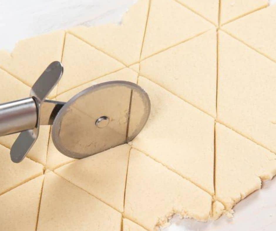 Como hacer galletas con forma de triangulo